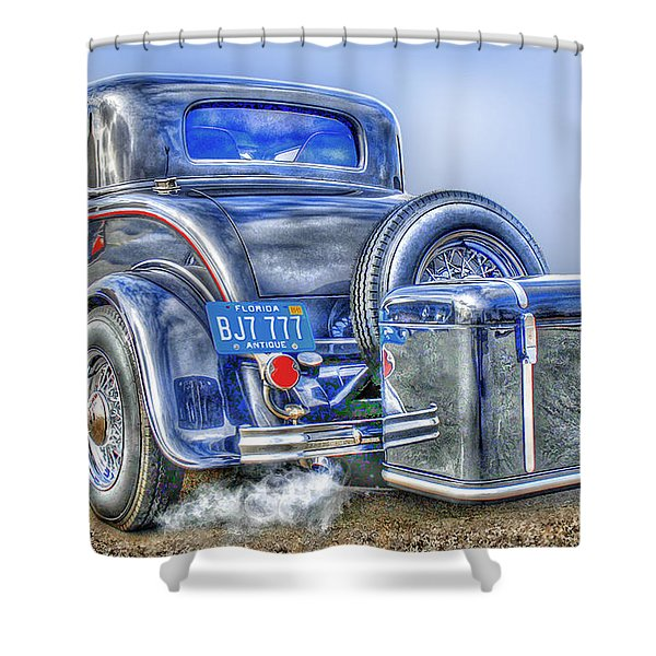 Car 54 Rear Shower Curtain