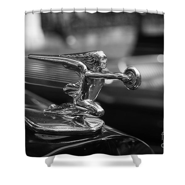 Car Show Ornament Shower Curtain
