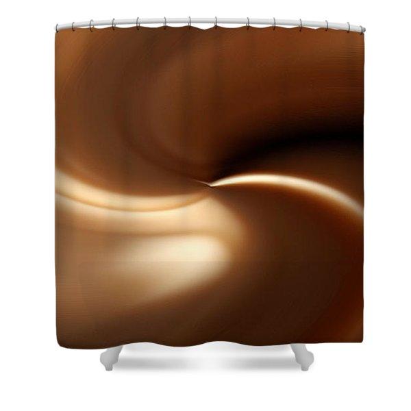 Caramel Shower Curtain