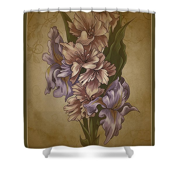 Shower Curtain featuring the photograph Card Floral Anyttime by Robert G Kernodle