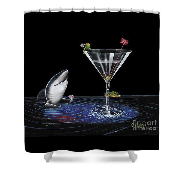 Card Shark Shower Curtain