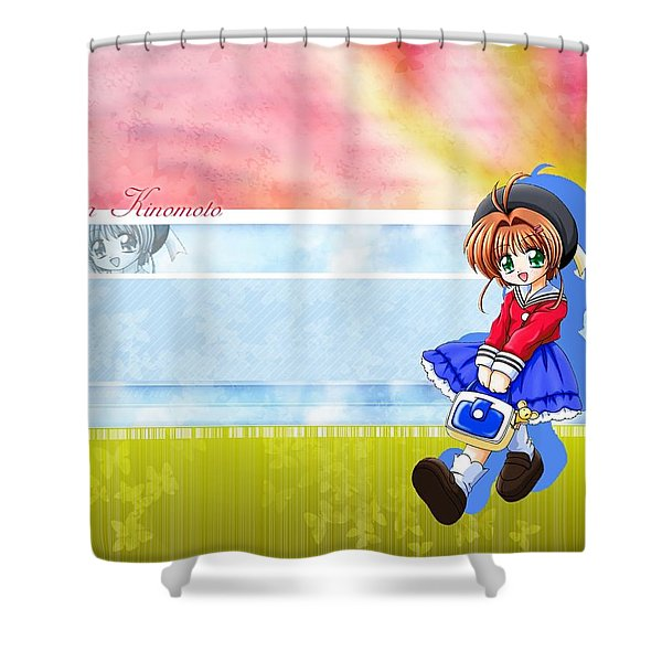 Cardcaptor Sakura Shower Curtain