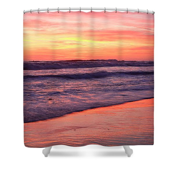 Cardiff Waves Shower Curtain