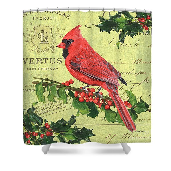 Cardinal Peace Shower Curtain