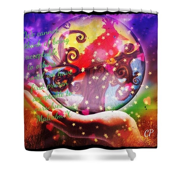 Cardinal Totem Shower Curtain
