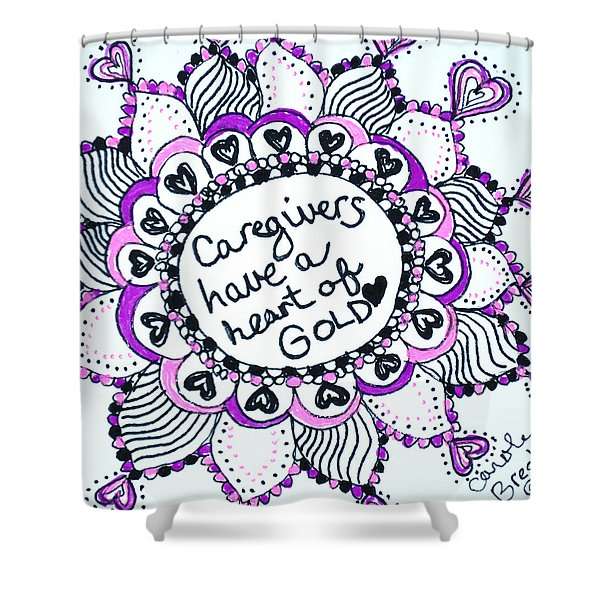Caregiver Sun Shower Curtain