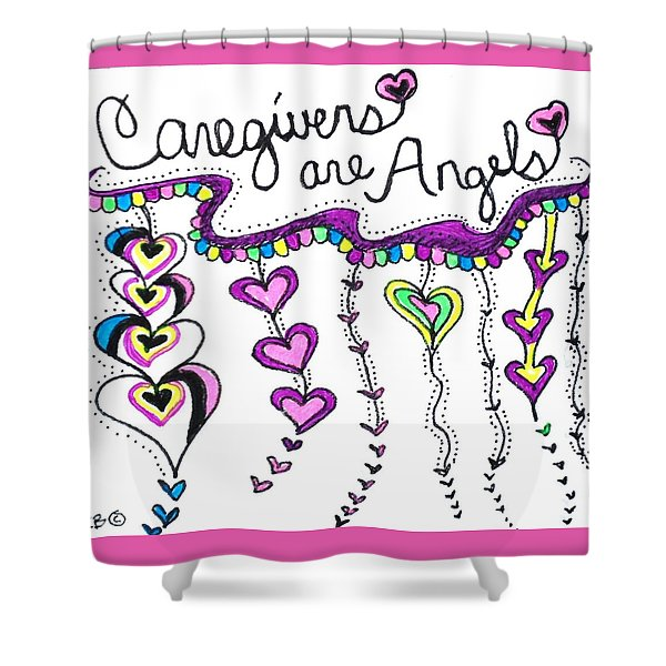 Caregiver Chime Shower Curtain