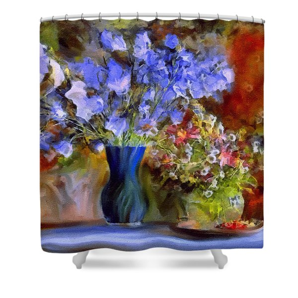 Caress Of Spring - Impressionism Shower Curtain
