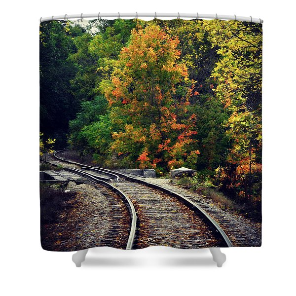 Caressing The Curve Shower Curtain