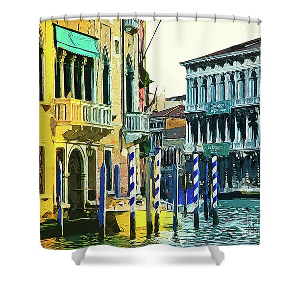 Ca'rezzonico Museum Shower Curtain