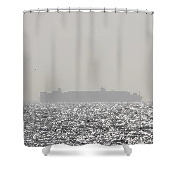 Cargo Au Large Shower Curtain
