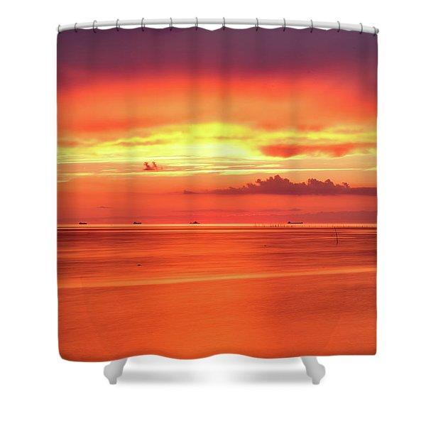 Cargo Line Shower Curtain