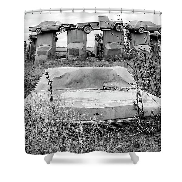 Carhenge Nebraska 22 Shower Curtain