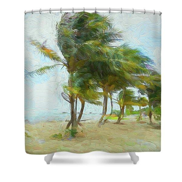 Caribbean Getaway Shower Curtain