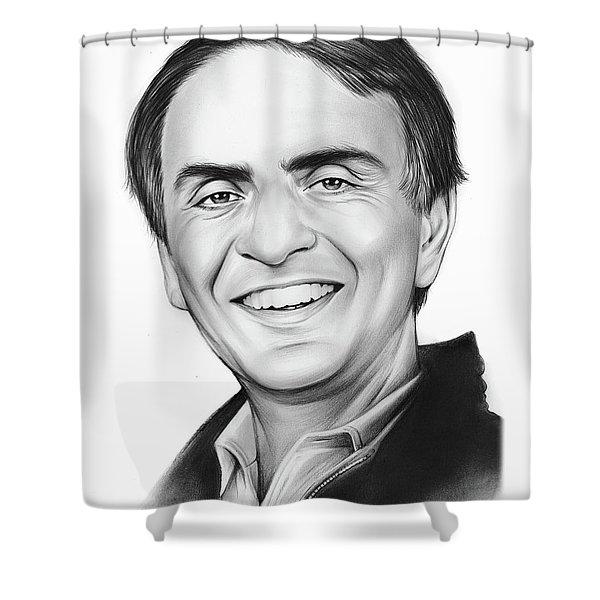 Carl Sagan Shower Curtain