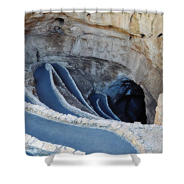 Carlsbad Caverns Natural Entrance Shower Curtain