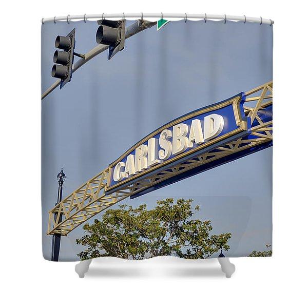 Carlsbad In Bold Shower Curtain