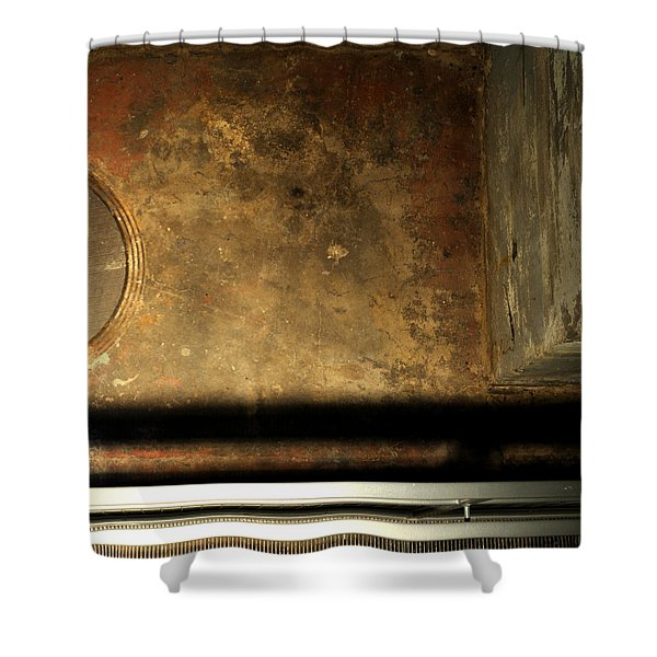 Carlton 13 - Abstract From The Bridge Shower Curtain