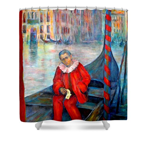 Carnaval In Venice Shower Curtain