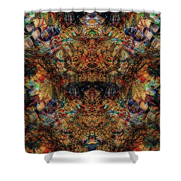 Carnival Funhouse Shower Curtain