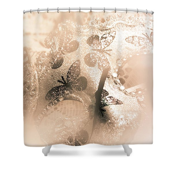 Carnival Mystery Shower Curtain