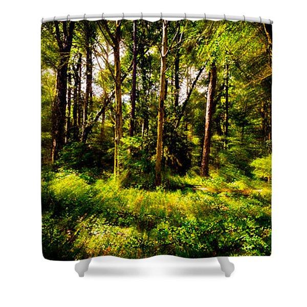 Carolina Forest Shower Curtain