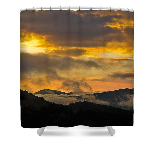 Carolina Sunset Shower Curtain