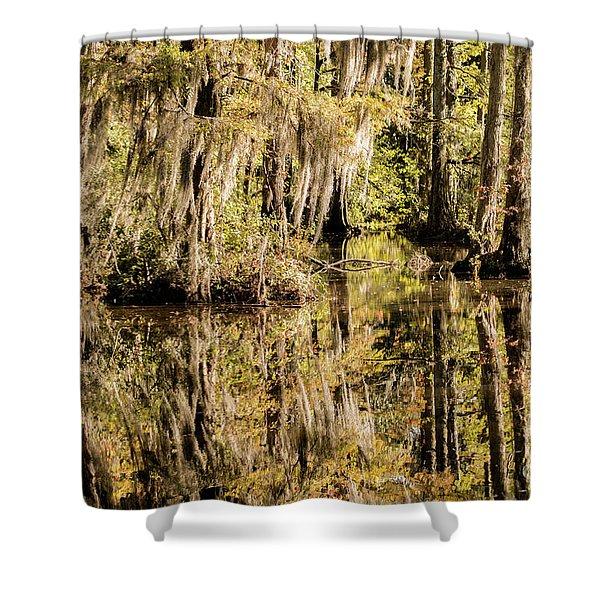 Carolina Swamp Shower Curtain