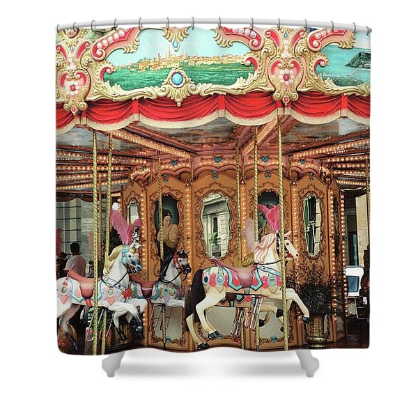 Carousel, Florence Shower Curtain