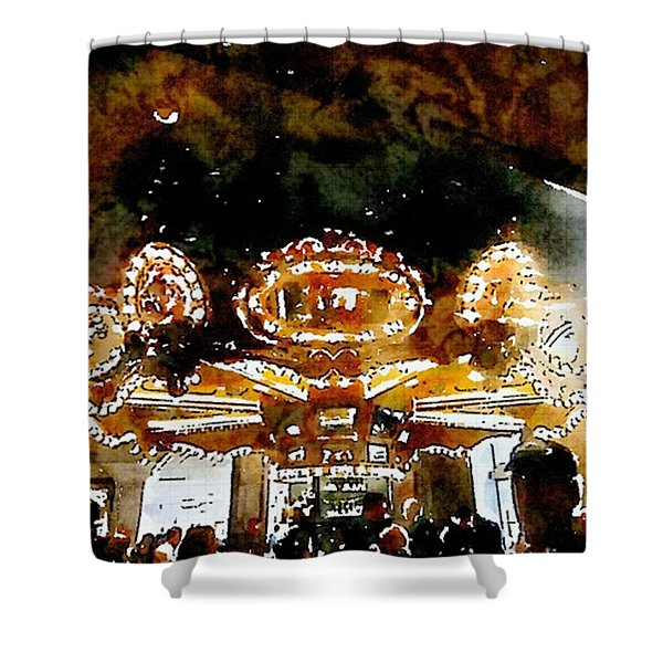 Carousle Bar At The Hoel Monteleone Shower Curtain