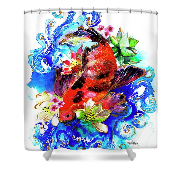 Carpa Koi Shower Curtain