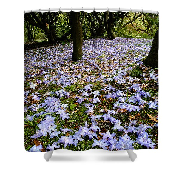 Carpet Of Petals Shower Curtain