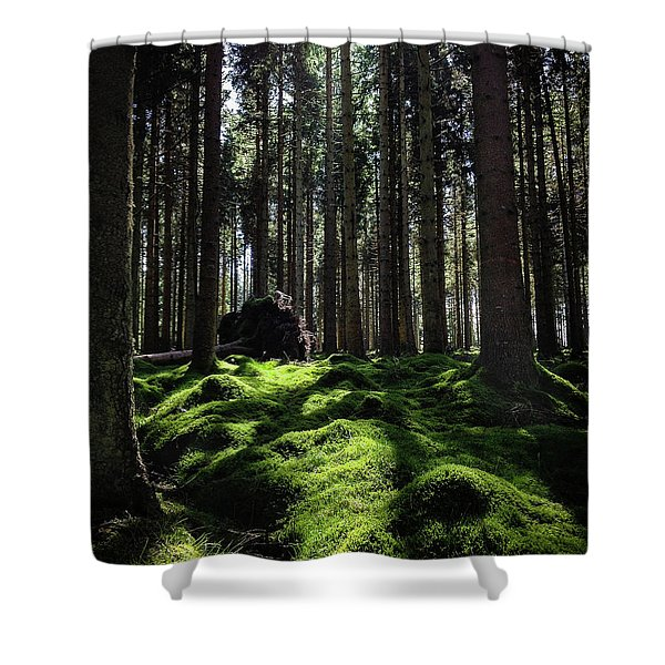 Carpet Of Verdacy Shower Curtain