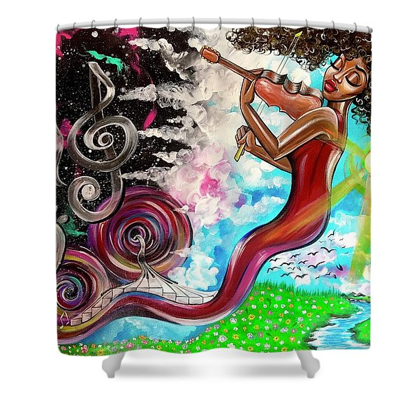 Carry Me Away Shower Curtain