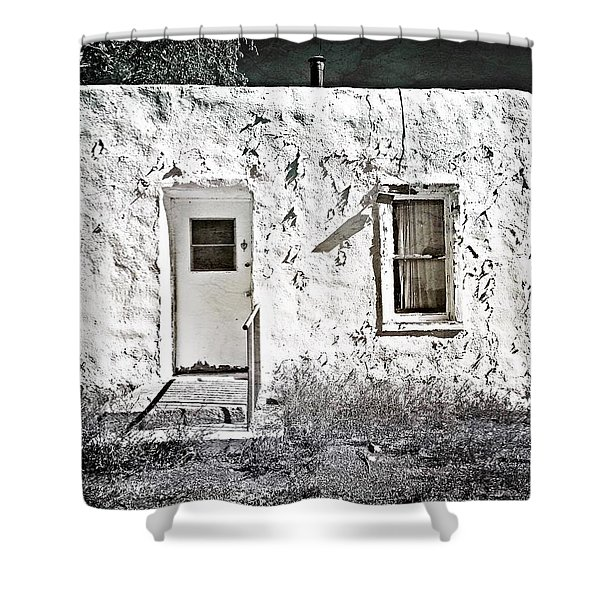 Casa De Blanco Shower Curtain