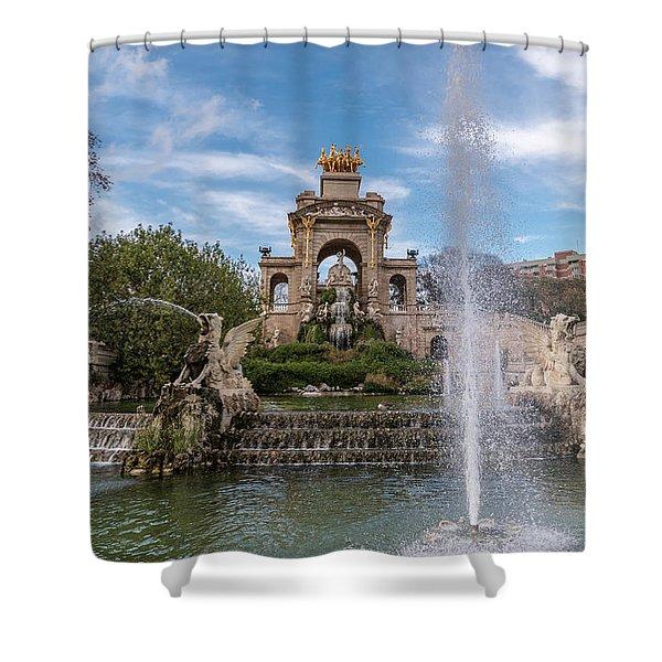 Cascada Monumental Shower Curtain