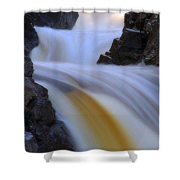 Cascade At Dawn Shower Curtain