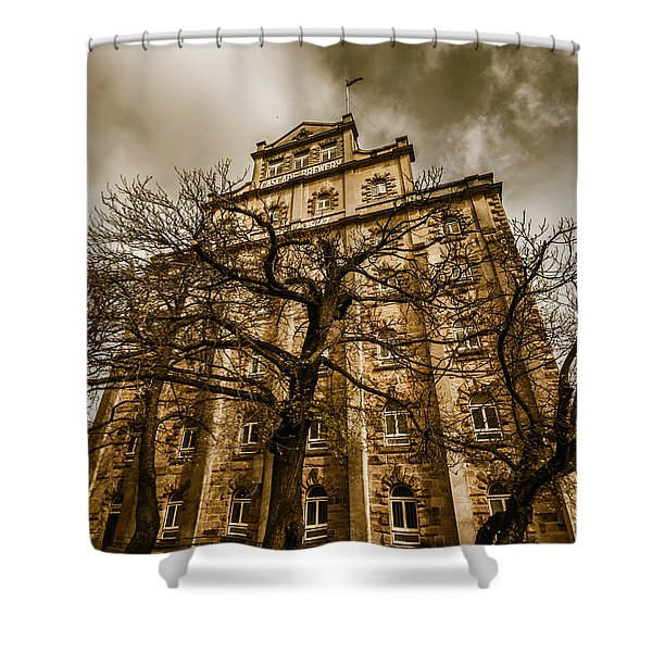 Cascade Brewery Shower Curtain