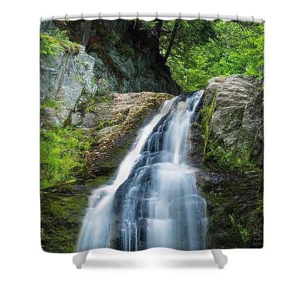 Cascade Falls In South Portland In Maine Shower Curtain