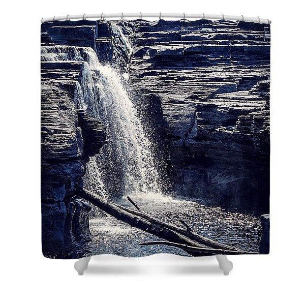 Cascade Shower Curtain