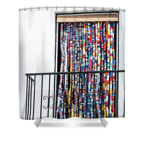 Cascade Of Colour Shower Curtain