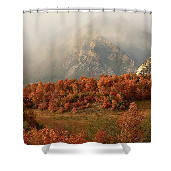 Cascading Fall Shower Curtain
