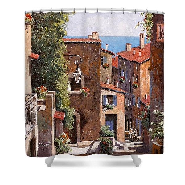 casette a Cagnes Shower Curtain