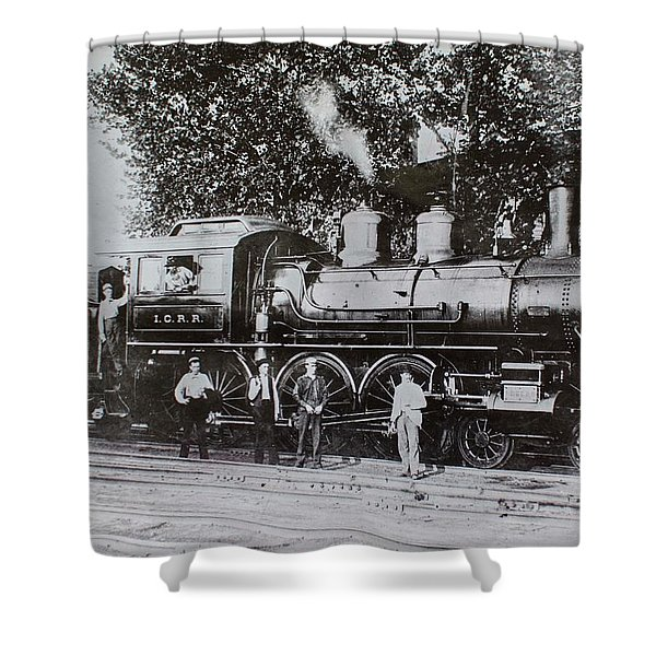 Casey Jones Engine  Shower Curtain