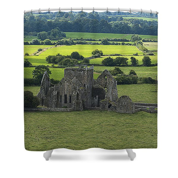 Cashel Hore Abbey Shower Curtain