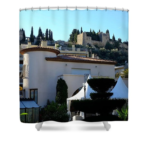 Cassis Town View Shower Curtain
