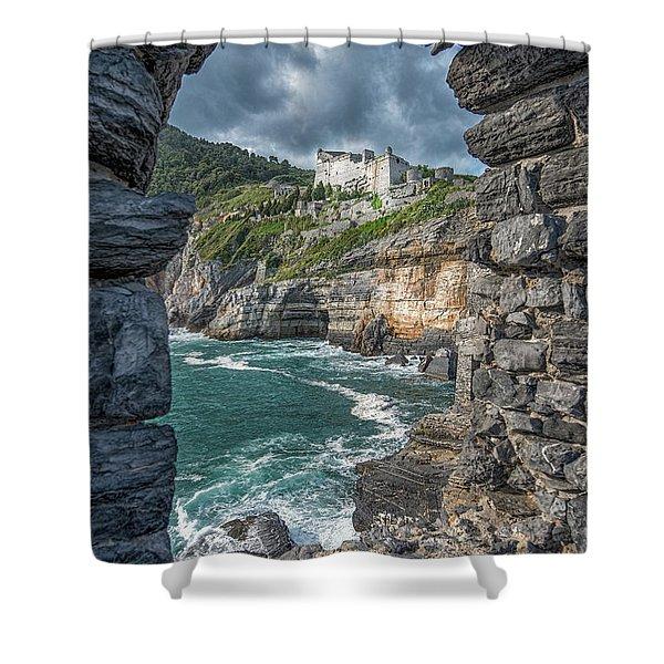 Castello Doria Shower Curtain