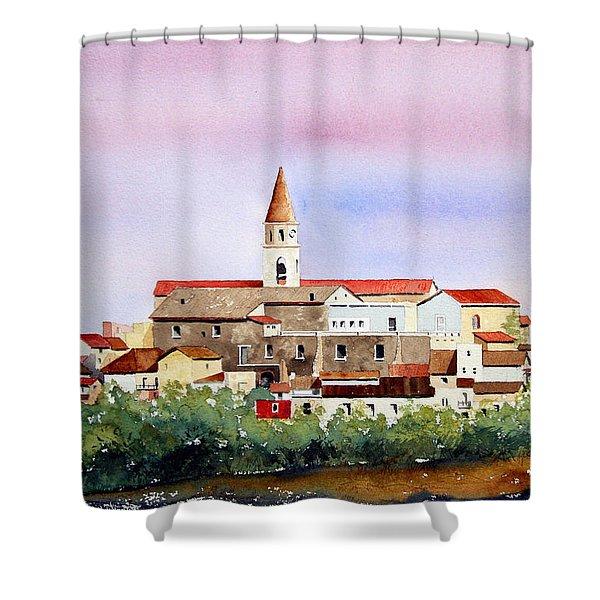 Castelnuovo Della Daunia Shower Curtain
