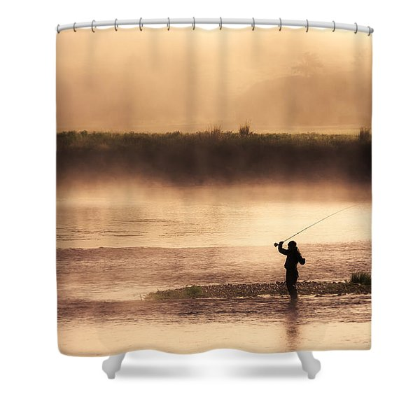Casting Away Shower Curtain