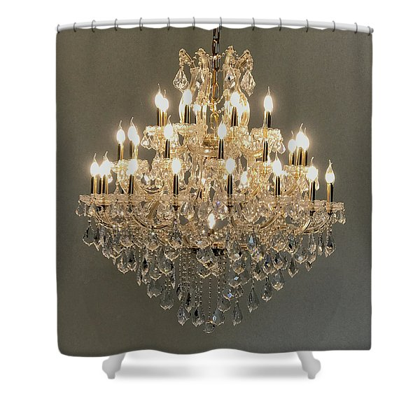 Castle Dining Room Shower Curtain